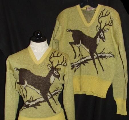 Catalina deer sweaters